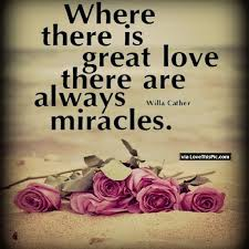 Great Love Quotes Simple Where There Is Great Love There Are Always Miracles Pictures Photos