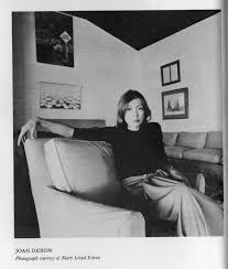 in bed by joan didion ned stuckey french joan didion in her home