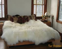 faux fur area rug for living room
