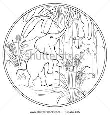 Small Picture Coloring Page Cute Squirrel Stock Vector 456439003 Shutterstock