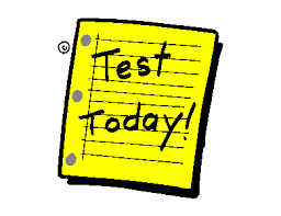 Image result for test today clip art