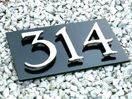 house plaques and numbers house number plaques house number plaque house number plaques address plaque for 3 house numbers by glass house number plaques uk
