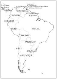 Latin America Outline Maps Cc Cycle 1 Week 23 24 South America Outline Maps Classical