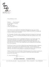 Letter For Preschool Letter Of Recommendation For Preschool