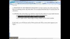 Thesis Example Essay Example Of An Essay Introduction And Thesis Statement Avi