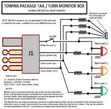 turn signal beeper wiring diagram for turn signal led monitor for jeep and suvs equipped trailering package