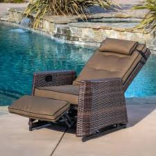 reclining outdoor chairs brown wicker recliner rocking chair by knight home plastic garden uk