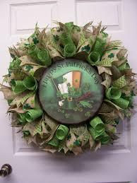 st pattys day home office decor. saint patricku0027s day mesh wreathhappy st wreathburlap st pattys home office decor