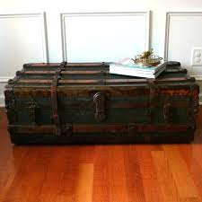 antique trunk coffee table photo of antique trunk coffee table steamer trunk coffee tables antique wood trunk coffee table
