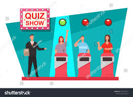 Quiz Design Quiz Game Tv Show Concept Design Stock Vector Royalty Free