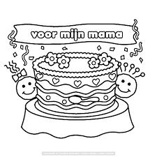 Bekijk Voor Mijn Mama Kleurplaat Moederdag Regarding Happy