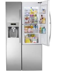 kenmore 51833. 26.1 cu.ft. capacity side-by-side refrigerator w/ grab-. kenmore 51833