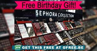 free sephora makeup on your birthday