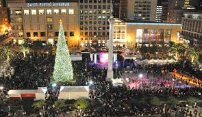 Sf Union Square Tree Lighting Things To Do In San Francisco During The Festive Holiday