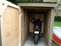 here a how to build motorcycle storage shed outdoor bubble motorbike