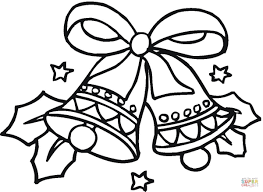 Small Picture Christmas Bells coloring page Free Printable Coloring Pages