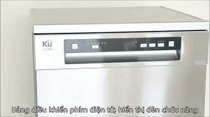 Máy rửa chén bát Kuchen 70373 N - YouTube