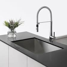 kraus khu29 28 1 2 undermount single bowl stainless steel sink with 16 gauge noisedefend sound dampening system handmade design 95 degree angled walls