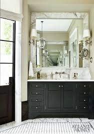 black bathroom cabinets with white marble countertops black and white bathroom furniture
