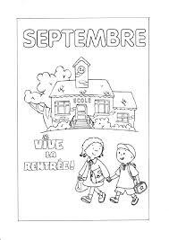 Coloriage Mois De Septembre Maternelle L L L L L L
