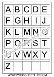 Abc Chart Free Printable Worksheets Worksheetfun