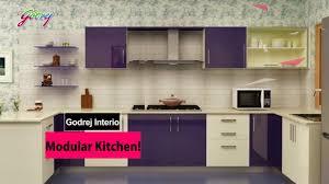 Godrej Modular Kitchen Designs Godrej Modular Kitchen Youtube
