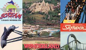 Here's what it looked like back then! Take A Trip Back In Time With These Old Canada S Wonderland Postcards