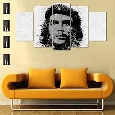 Buy Che Guevara <b>5 Piece</b> Canvas Wallart - <b>HD</b> Printed Perfect Gift ...