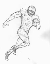 Nfl Football Player Coloring Pages At Getdrawingscom Free For