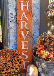 Decorating: Happy Fall Rustic Sign Ideas - Rustic Fall Decor