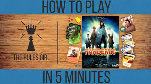 How To Play Pandemic In 5 Minutes The Rules Girl Youtube