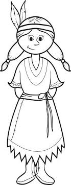 Native American Indian Girl Coloring Pages 2019 Open Coloring Pages