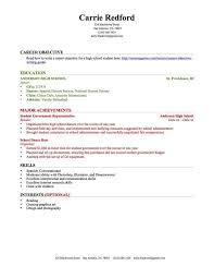 High School Student Resumes With No Work Experience Gentileforda Com