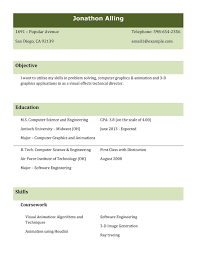 Free Resume Templates Best Job Format Examples In The Resumes 87