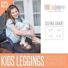 Lularoe Kids Size Chart Lularoe Kids Leggings Size Chart See Our Current Collection