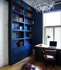 indigo home office. Home Office, Coastal, Bookcase, Condos, Blues, Colorful Furniture, Crystal Chandeliers, Crystals, Beleza Indigo Office I
