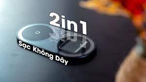 Đế SẠC NHANH Không Dây Baseus Simple 2 in 1 Wireless Charger 15W NGON và  RẺ!!! - YouTube