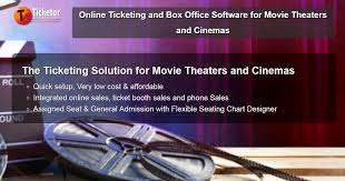 Online Ticketing And Box Office Software For Movie Theaters