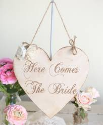 Morgann Hill Designs Etsy Rustic Here Comes The Bride Wedding Sign By Morgann Hill