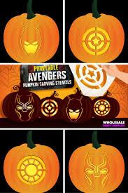 Captain America Pumpkin Designs Avengers Pumpkin Carving Stencils Pumpkin Carving Pumpkin
