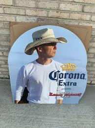 Kenny Chesney Corona Light Tour Kenny Chesney Life Size Cardboard Cutout And 50 Similar Items