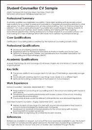 Undergraduate Cv Examples Msdoti69