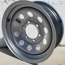 Chevy Truck Wheel Bolt Pattern Stunning 48'' Silver Modular Trailer Wheel 48 On 4848 Chevy Truck Bolt Pattern
