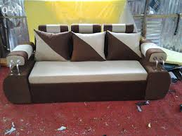 the best quality steel handle attached sofa bed