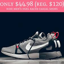 only 44 98 regular 120 nike men s duel racer cal shoes deal hunting