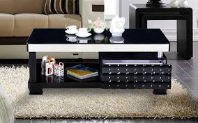 royaloak optima coffee table with tempered glass top