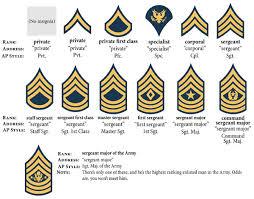 Basic Army Organizational Chart