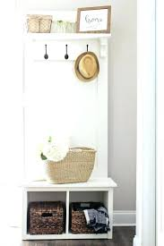 bench with coat rack corner entry entryway hall tree racks
