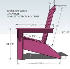 adirondack chairs blueprints.  Adirondack Ana White Ana39s Adirondack Chair Diy Projects Throughout Chairs  Blueprints With