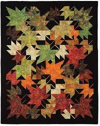 17 Best images about Quilts ( flowers, leaves and trees) on Pinterest & New Leaves Quilt Pattern Adamdwight.com